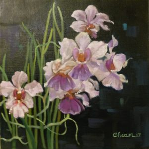 Orchids by Cheam Cheng Koon