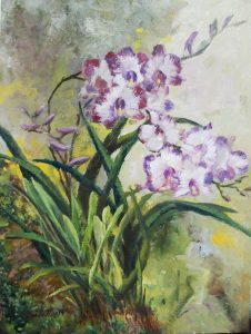 Orchids in the wild by Low Soi Lah