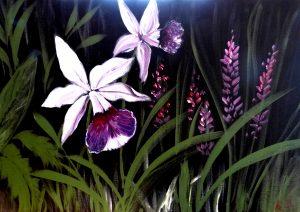 Orchid by Tan Teng Wah